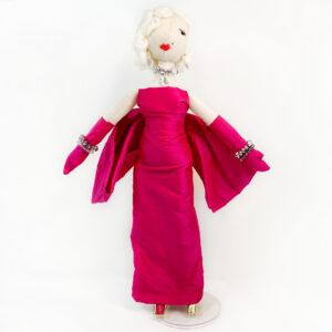 Bambole collezionabili fatte a mano in italia Marilyn Monroe