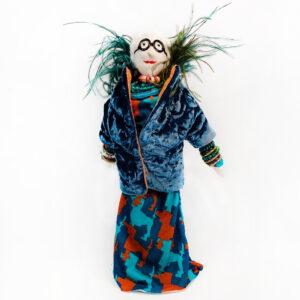 Bambole di donne famose Iris Apfel