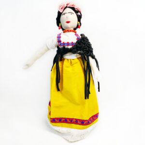 Bambole di personaggi famosi Frida Kahlo