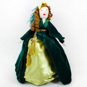 Bambole di pezza fatte a mano online Miss Rossella
