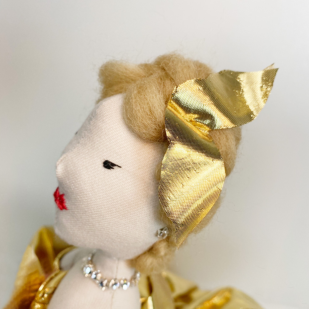 Bambole fatte a mano in vendita su internet Grace Kelly