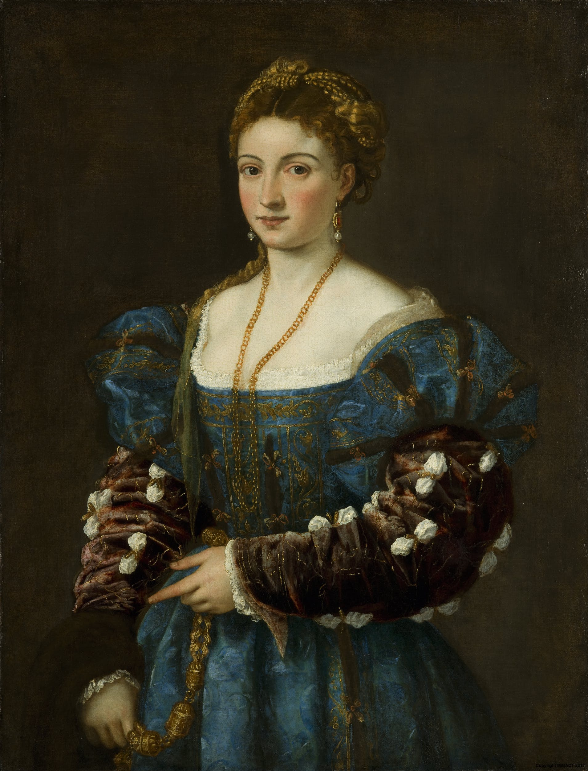 """Ritratto di gentildonna (""""La Bella"""")"""