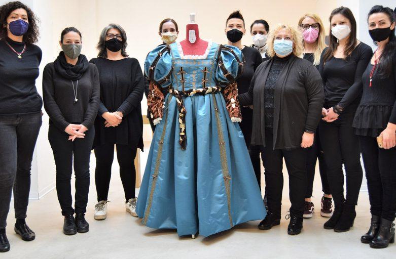 L'arte diventa realtà: dalla tela di Tiziano all'abito gioiello per il Corteo Storico della Repubblica Fiorentina