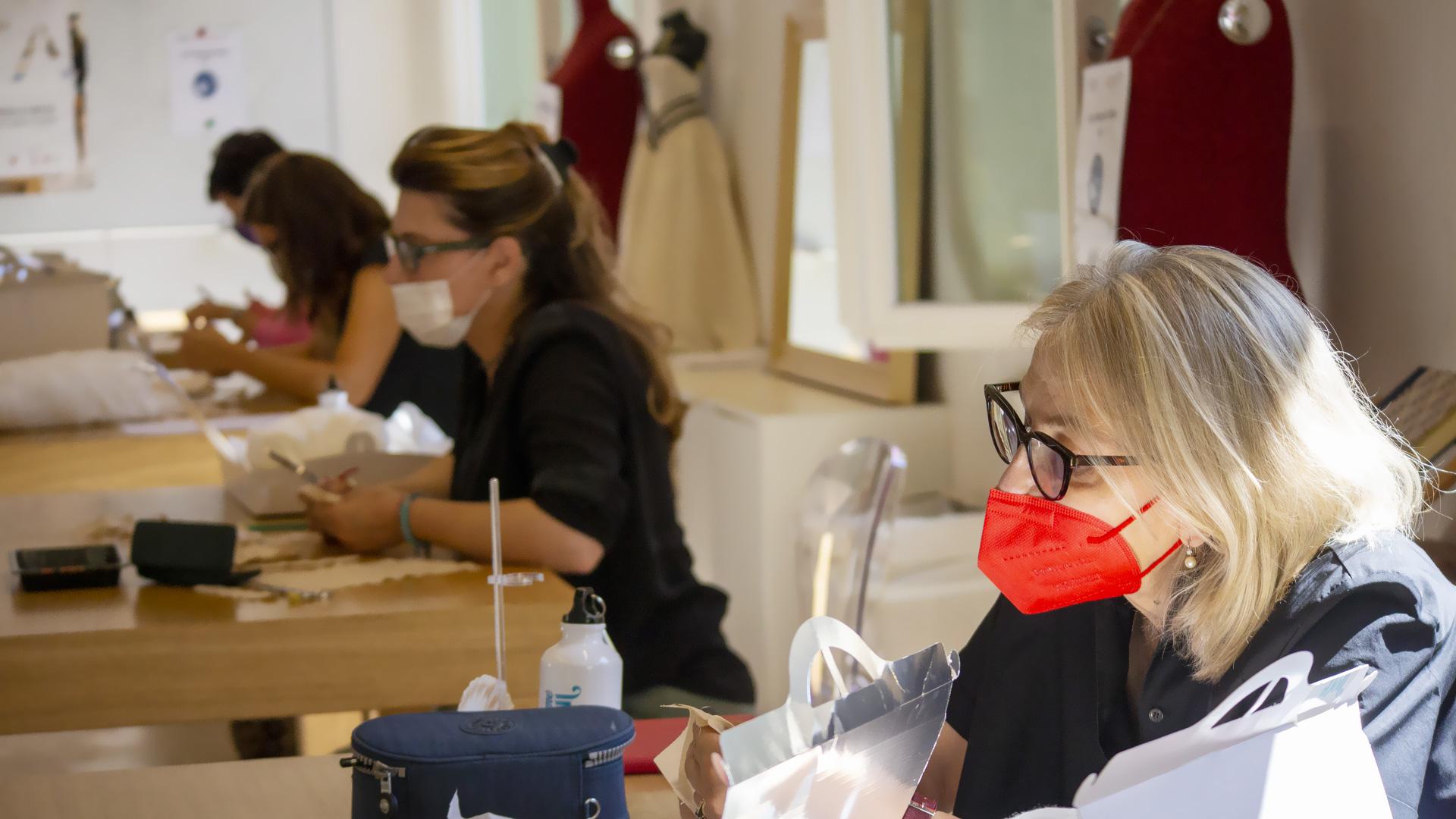 Corso di cucito creativo: imparare a cucire la Venere di Botticelli